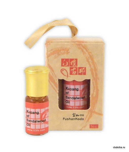 Эфирное масло Бай Тань Гу Бан Лао Шань, 3 мл