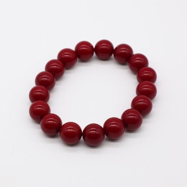 Четки-браслет , Янтарь, Красный
