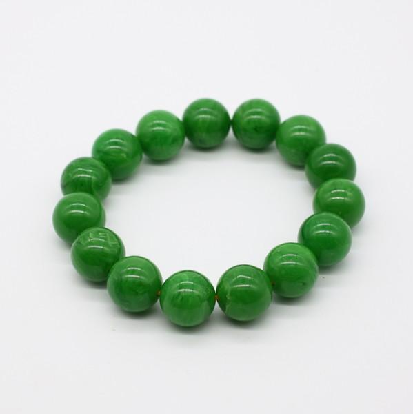 Четки-браслет , Янтарь, Зелёный