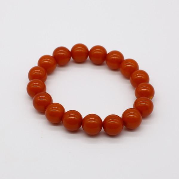 Четки-браслет , Янтарь, Оранжевый