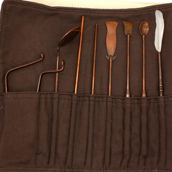 Набор инструментов для Сян Дао (коричневый)