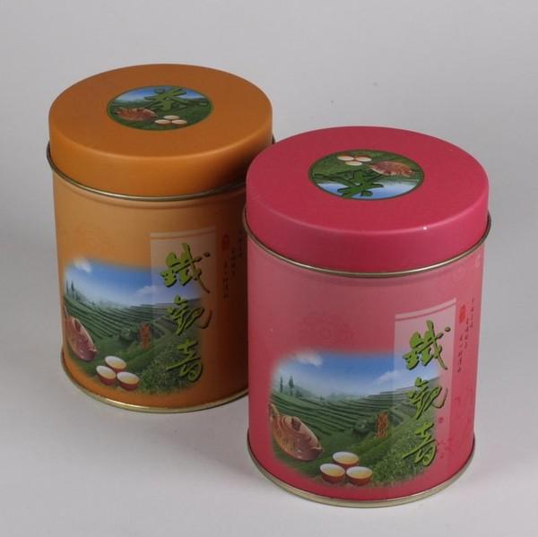 Баночка для чая жесть 100 гр