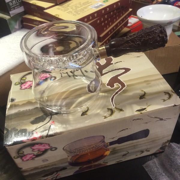 "Чайник стекло ""Капуста"" 250 мл"