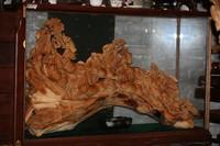 """Скульптура """"8 Лошадей"""" (Гималайский кедр)"""