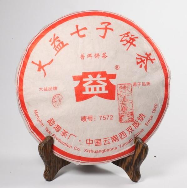 Чай Пуэр Шу Да И (7572) Чи Цзы Бин '06 №1000