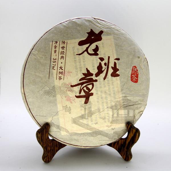 Пуэр Шу Лао Бань Чжан Да Шу Ча Бин '08 №100