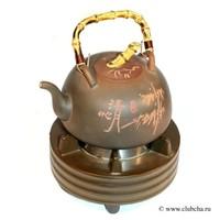 Чайник для воды + электрическая плитка