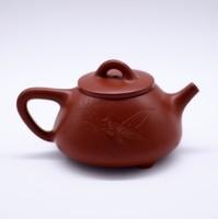 """Чайник глина коричневая """"Ши Пяо Кузнечик и бамбук""""120мл"""