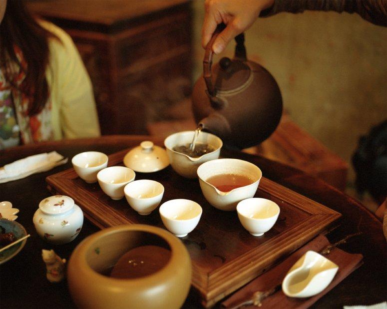 Китайская чайная церемония традиции чаепития в китае