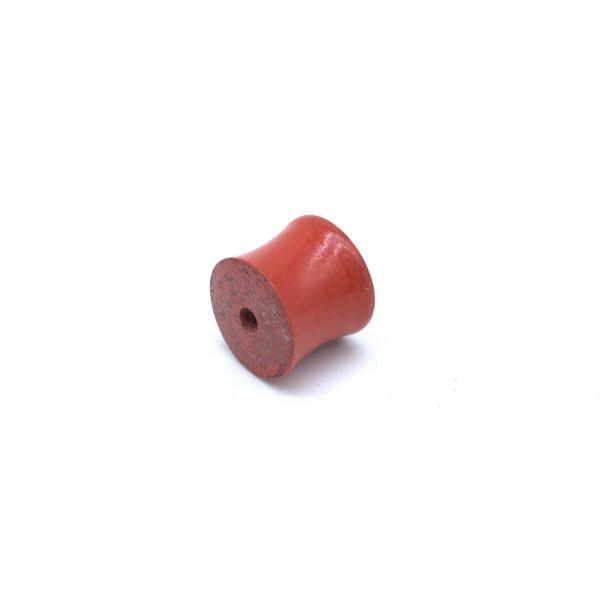 Бусина киноварь Барабанчик 8 мм