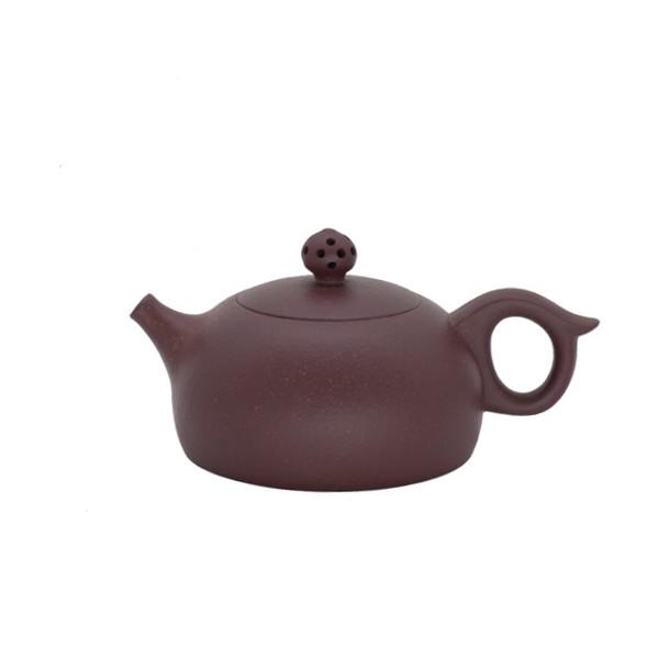 Чайник глина коричневая «Резная жемчужина» 155 мл