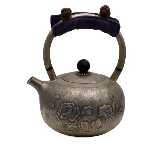 Чайник для воды серебро