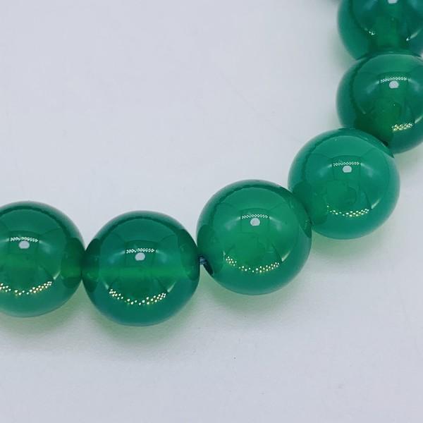 Чётки агат зелёный 10мм