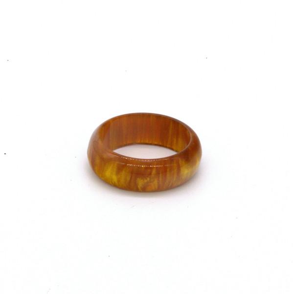 """Кольцо для четок """"Янтарь"""" узкое 18мм"""