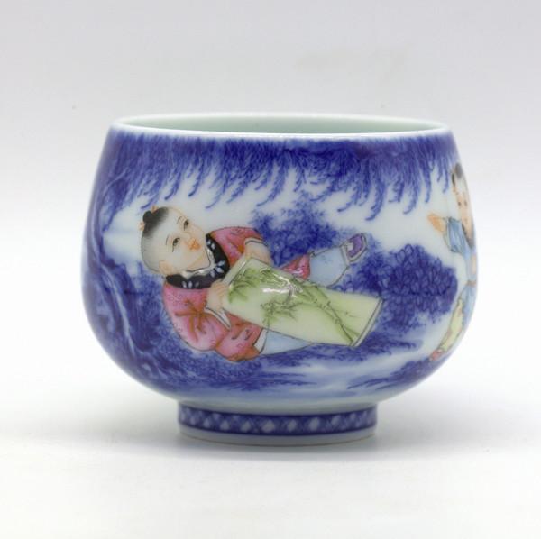 Чашка фарфор Сыновья неба