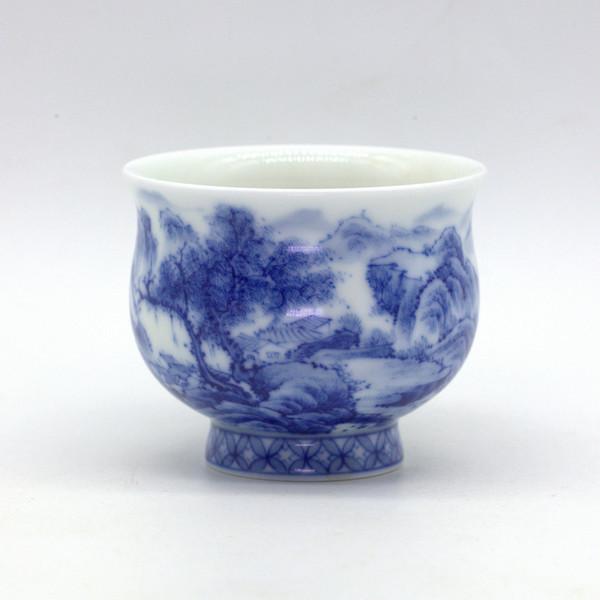 "Чашка фарфор ""Лу Шань"""