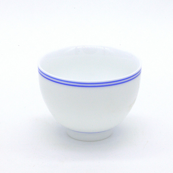 """Чашка фарфор """"Кобальтовый ободок"""" 60 мл"""