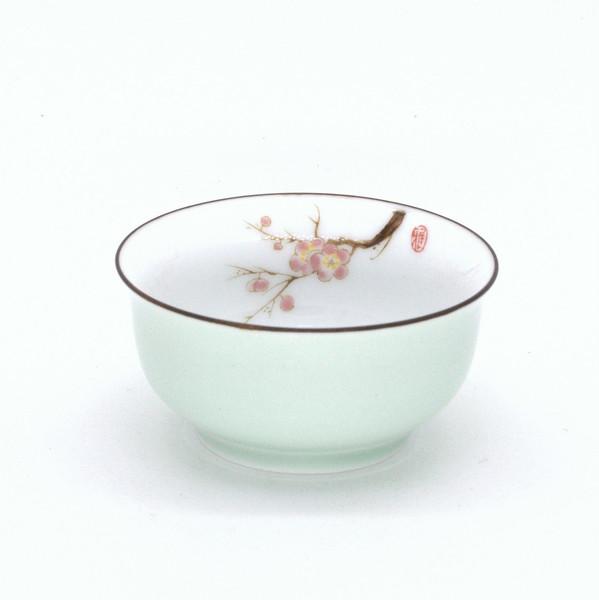 """Чашка фарфор """"Мэй Хуа"""" 60 мл"""