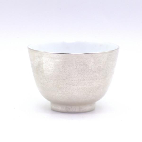 """Чашка """"Серебряные цветы"""" 75 мл"""