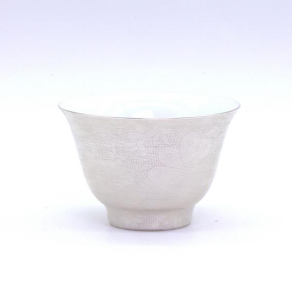 """Чашка """"Серебряные цветы"""" 55 мл"""