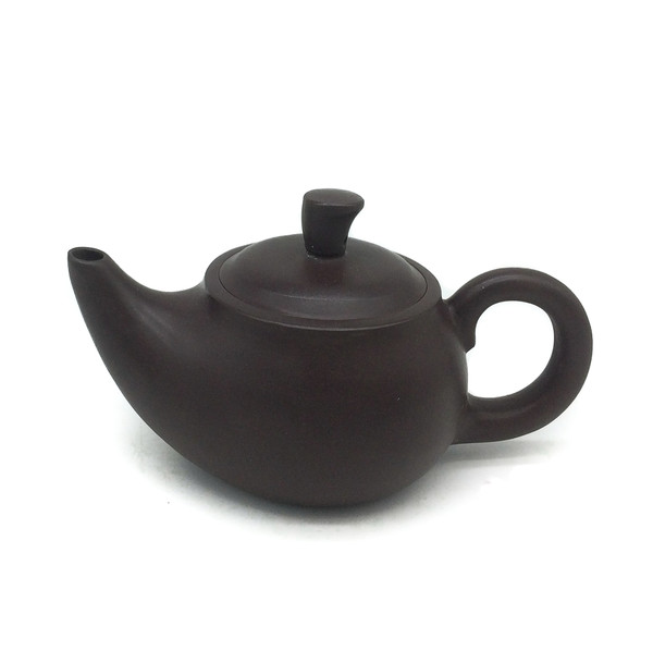 "Чайник глина коричневая ""Лампа"" 120 мл"