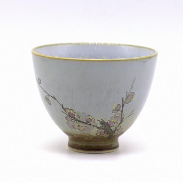 """Чашка фарфор """"Слива Мэй Хуа"""""""