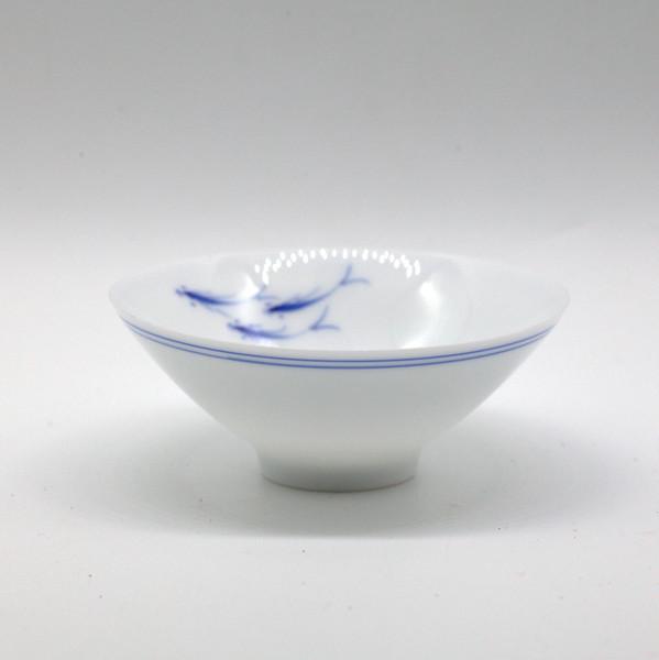 Чашка фарфор рыбки 70мл