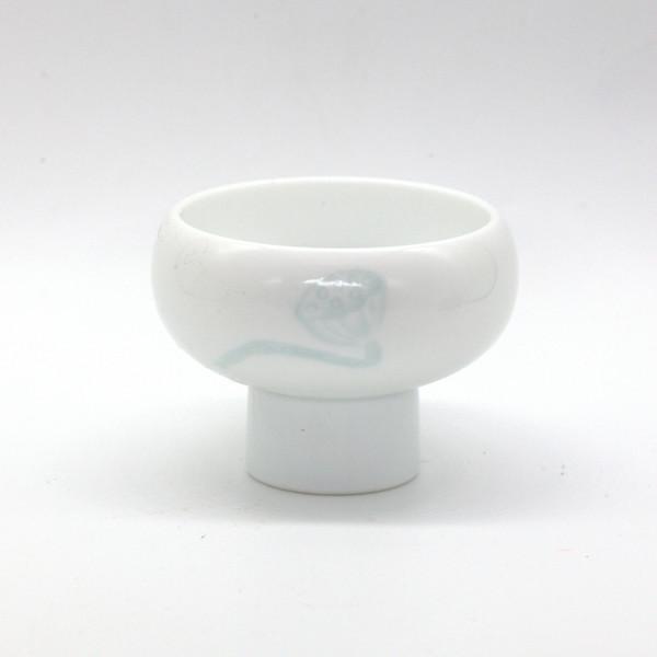 Чашка фарфор теневой селадон 55 мл