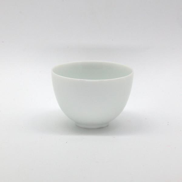 Чашка фарфор чисто белая 60 мл