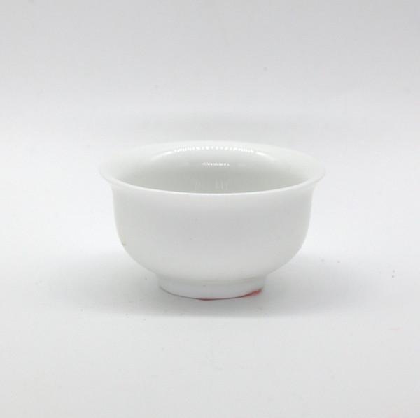 Чашка фарфор белая с отогнутым краем 40 мл