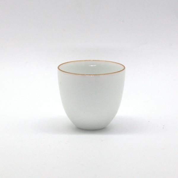 Чашка фарфор тюльпан наперсток узкий низ 20 мл