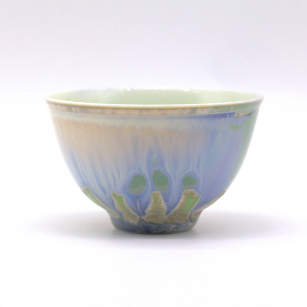 Чашка 01489 фарфор обливная глазурь 95 мл