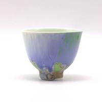 Чашка фарфор обливная глазурь 85