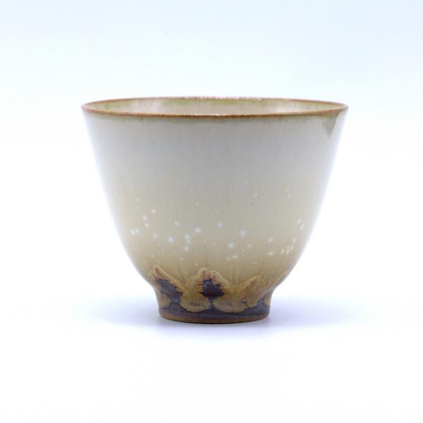Чашка 01489 фарфор обливная глазурь 80 мл
