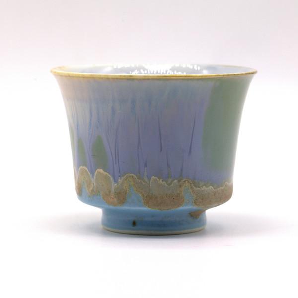 Чашка фарфор обливная глазурь 95 мл арт