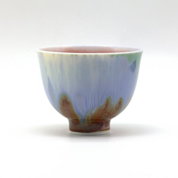 Чашка фарфор обливная глазурь 85 мл