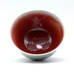 Чашка фарфор обливная глазурь 105 мл
