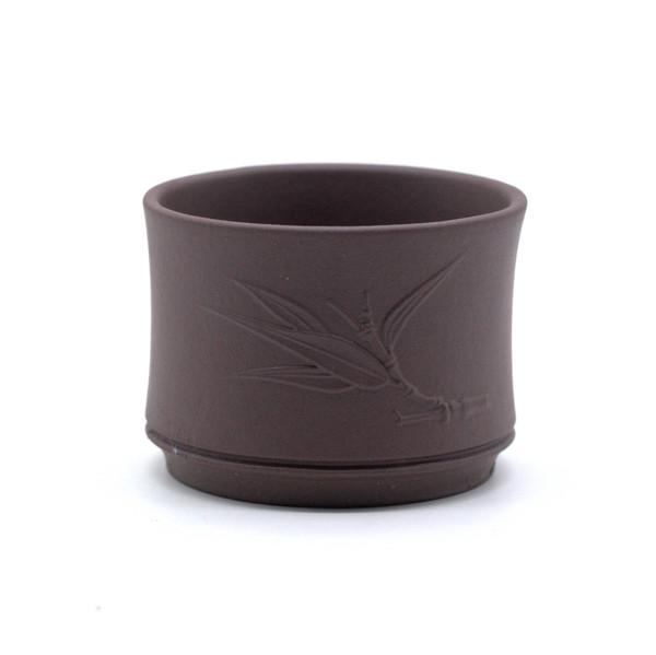 Чашка глина бамбук 60 мл