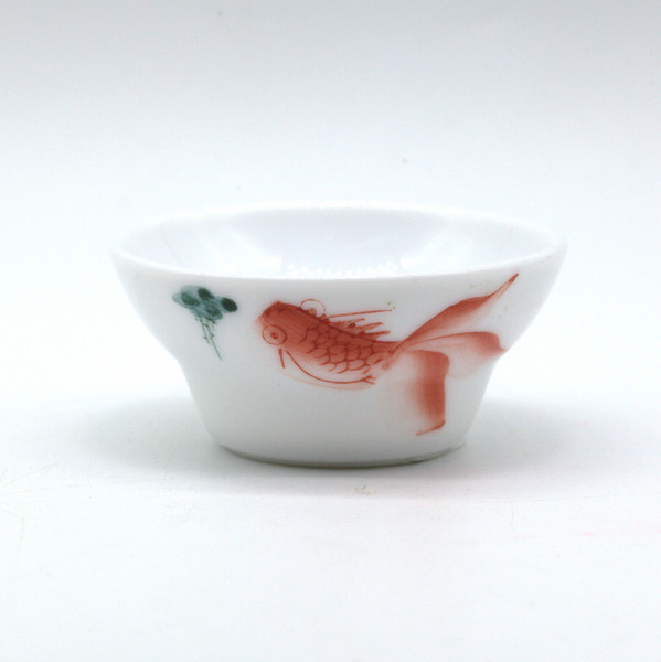 """Чашка фарфор """"Рыбки"""" 35 мл"""