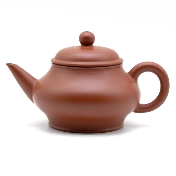Чайник глина красная Шуй Пин Бянь Ху 165 мл