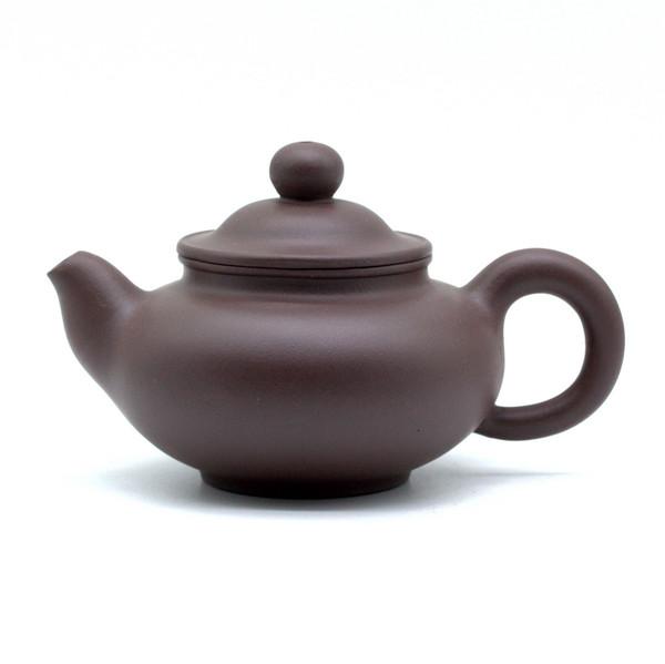 Чайник глина коричневая 140 мл