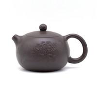 Чайник глина коричневая пион 135 мл