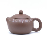 Чайник глина коричневая Си Ши 110 мл