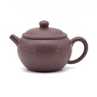 Чайник глина коричневая широкое горло 150 мл
