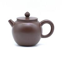 Чайник глина коричневая резная жемчужина 130 мл