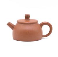 Чайник глина красная резная жемчужина 100 мл