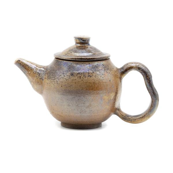 Чайник глина дровяной обжиг 100 мл
