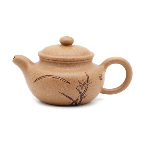 Чайник глина жёлтая кунжутная Фан Гу 85 мл