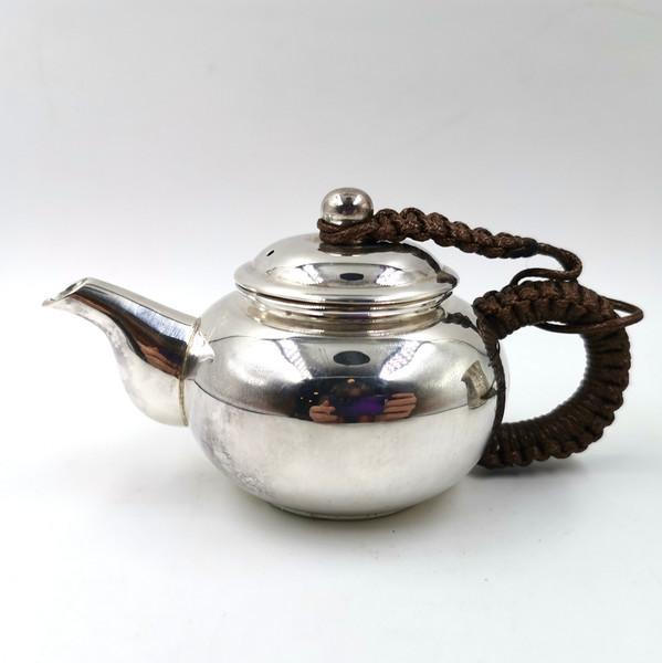 """Чайник серебро """"Изначальная форма"""""""