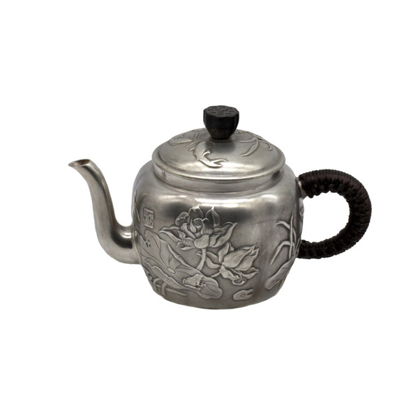 Чайник серебро Лотосовый пруд 150 мл